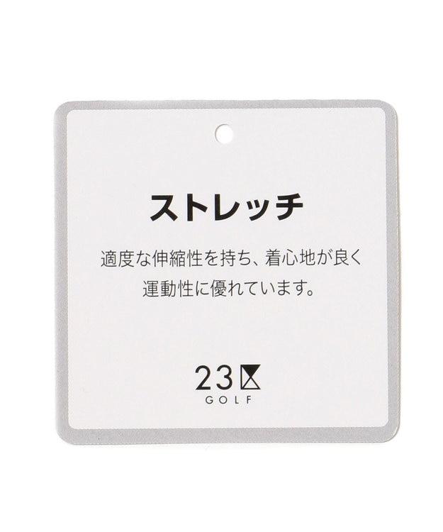 23区GOLF 【MEN】【撥水 / ストレッチ】エアリージャージープリント ブルゾン