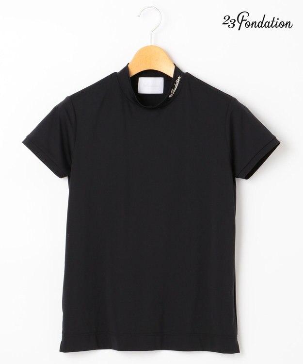 23区GOLF 【WOMEN】【Fondation/WEB限定】【UV/日本製】モックネック シャツ