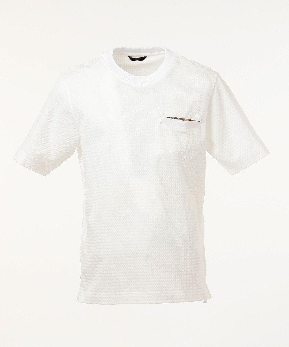 DAKS サッカー ポケットTシャツ ホワイト系