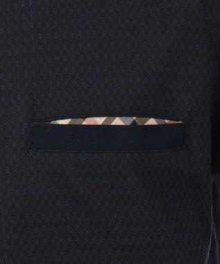 DAKS サッカー ポケットTシャツ ネイビー系
