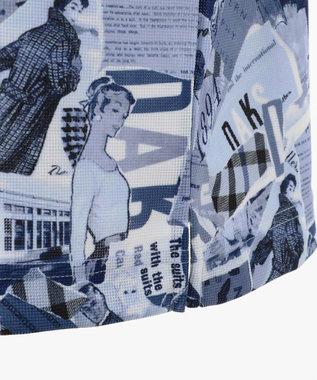 DAKS GOLF 【MEN】125th アニバーサリーコラージュ カットソー ネイビー系5