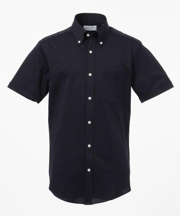 GOTAIRIKU 【COOL BIZ / リモートワーク】クールマックス  へリンボン ポロシャツ