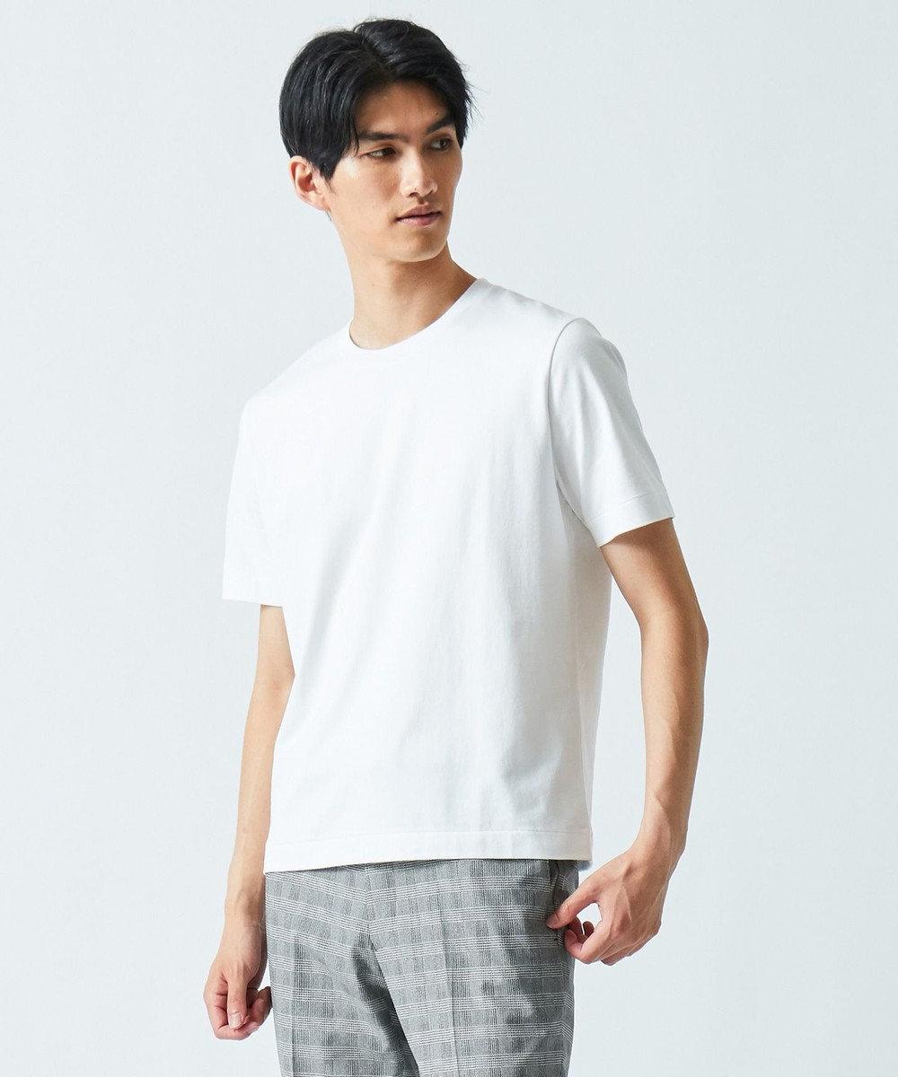 GOTAIRIKU 【ベーシック】SUVIN コットンTシャツ ホワイト系