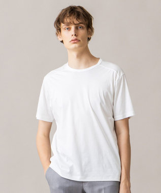 JOSEPH HOMME コットンソフィア クルーネック Tシャツ ホワイト系