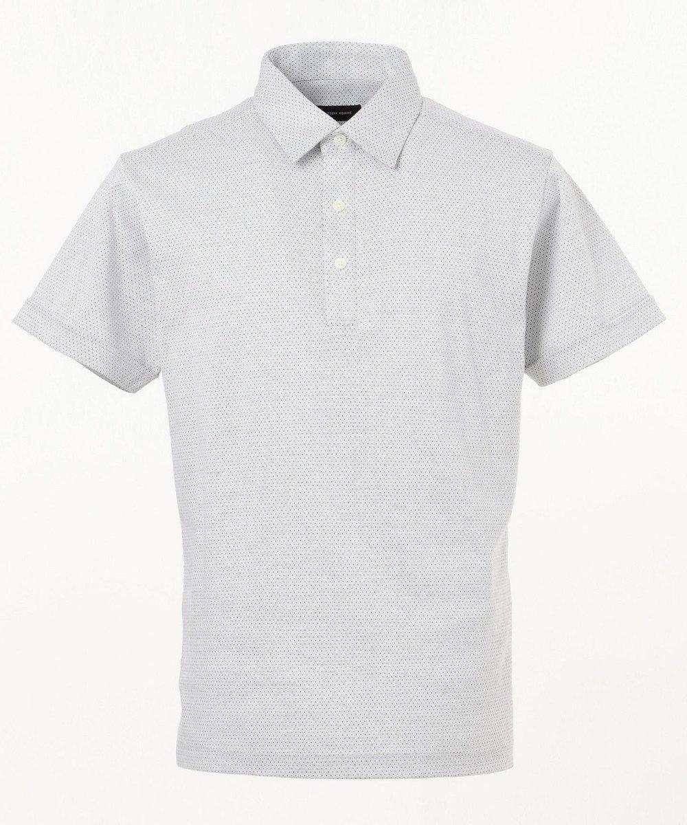 JOSEPH HOMME ブライトピンドット カットソー / ポロシャツ ホワイト系