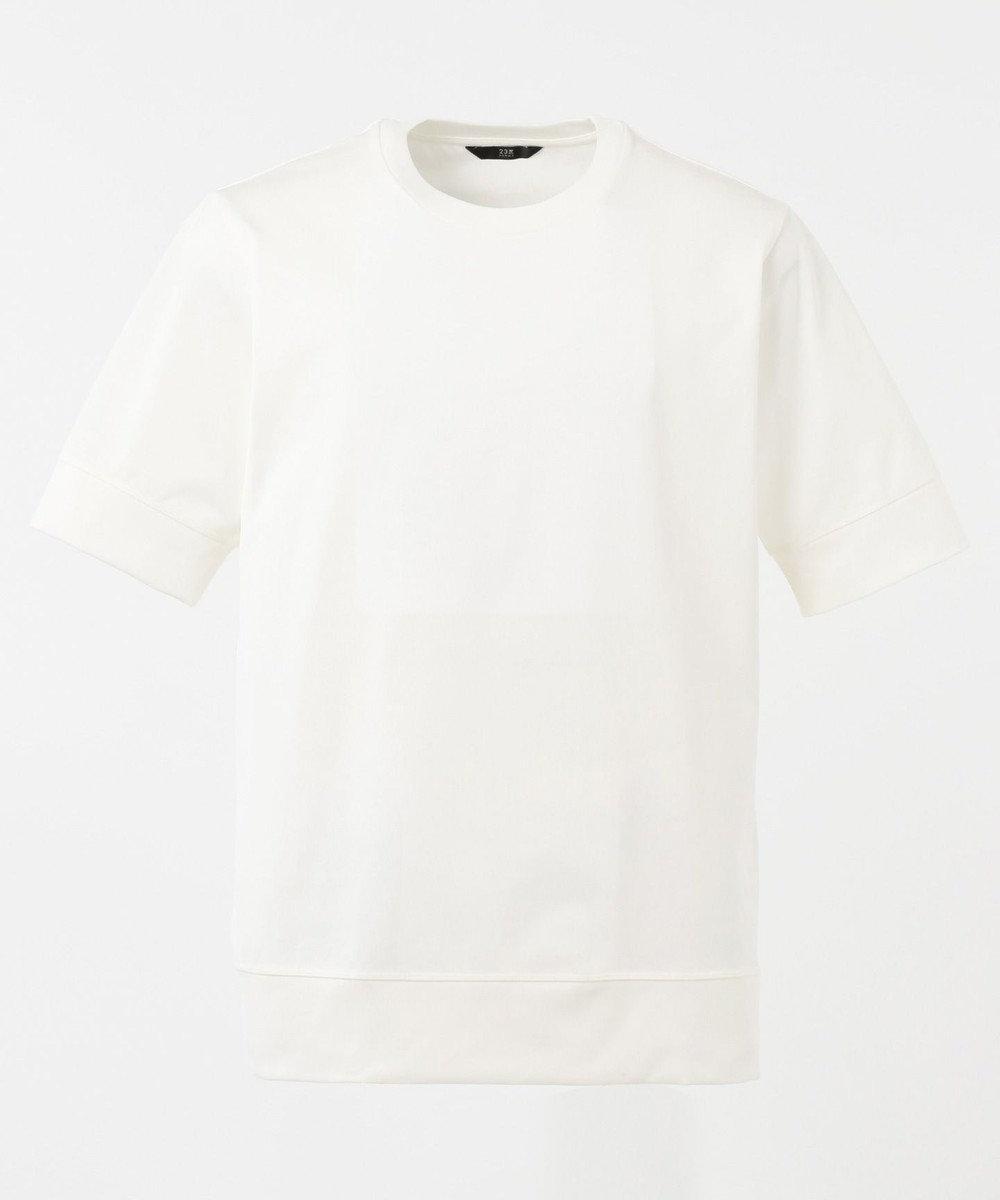 23区HOMME ドレスTシャツ ホワイト系