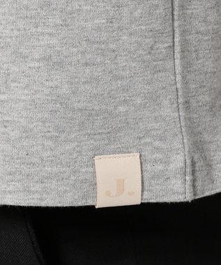 J.PRESS MEN オーバル Tシャツ ライトグレー系