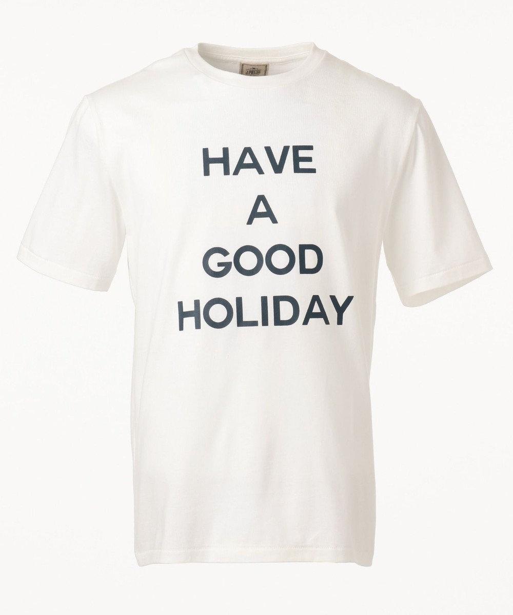 J.PRESS MEN 【HAVE A GOOD HOLIDAY】スーベニア / Tシャツ ホワイト系
