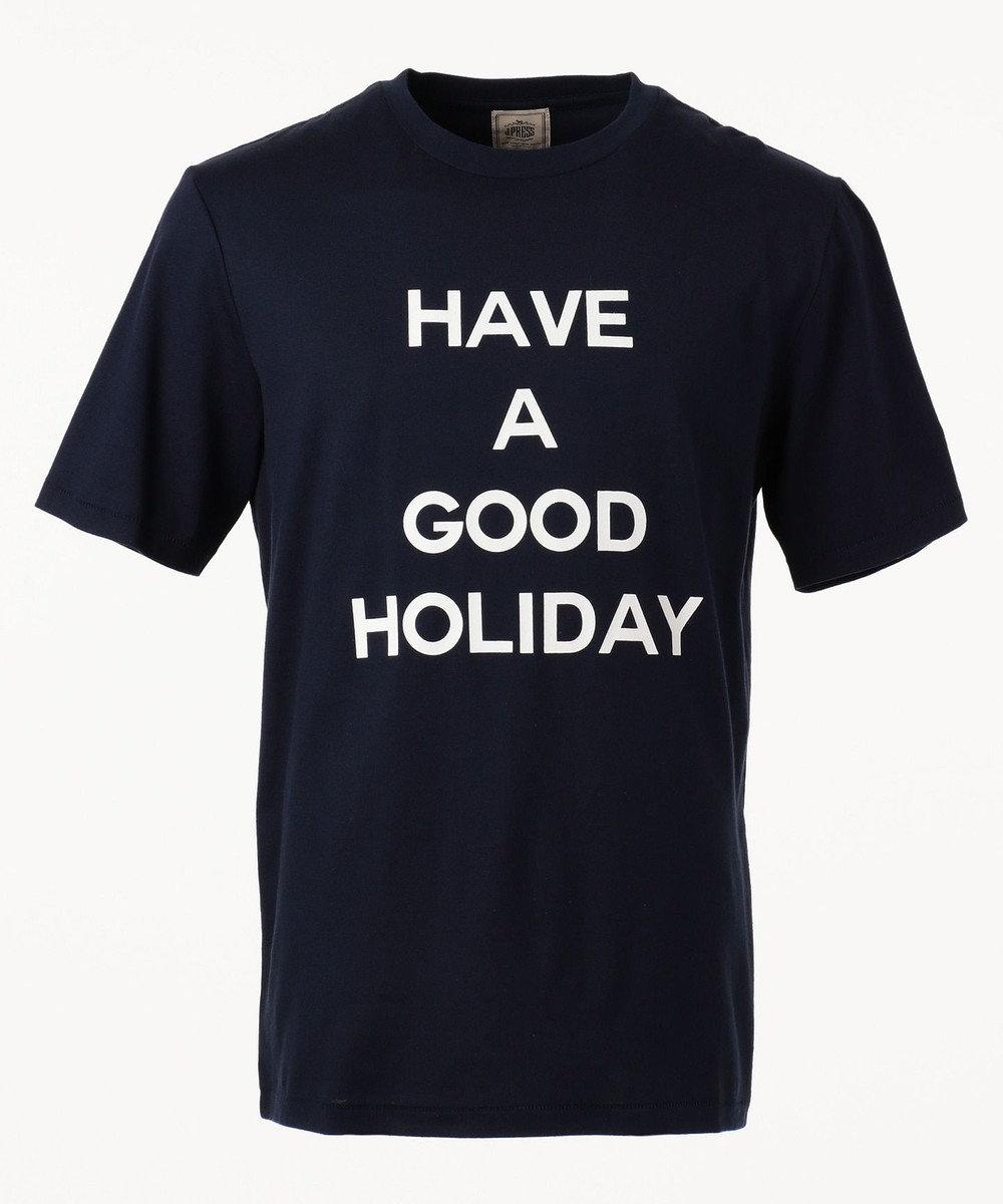 J.PRESS MEN 【HAVE A GOOD HOLIDAY】スーベニア / Tシャツ ネイビー系