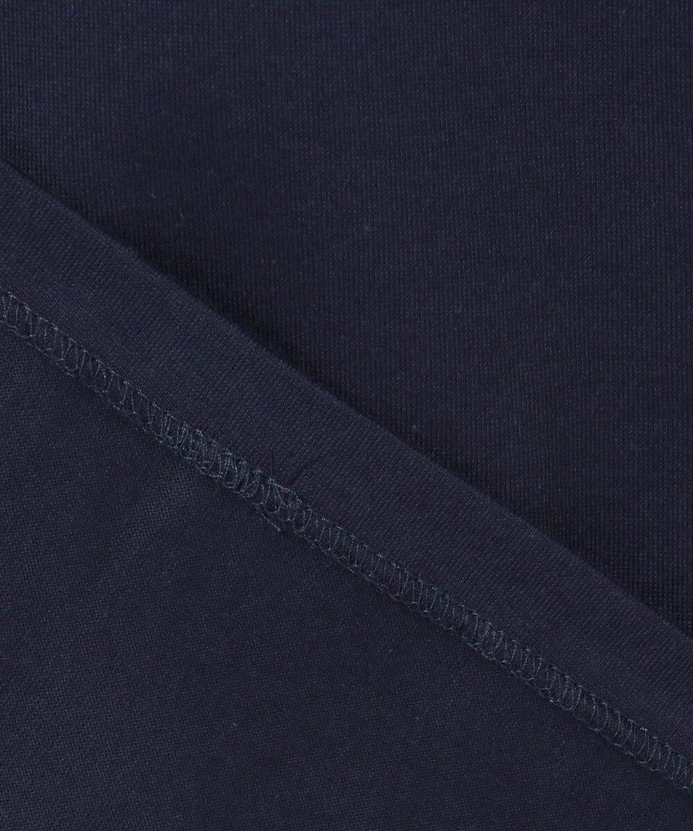 J.PRESS MEN PRETTY THINGS INSIDE ロゴTシャツ ネイビー系