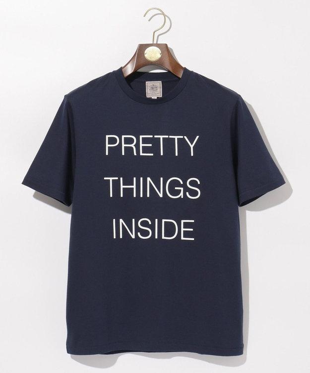 J.PRESS MEN PRETTY THINGS INSIDE ロゴTシャツ