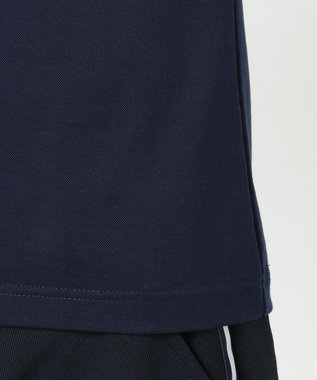 23区GOLF 【WOMEN】【吸汗速乾】カノコスカラップ刺繍 シャツ ネイビー系