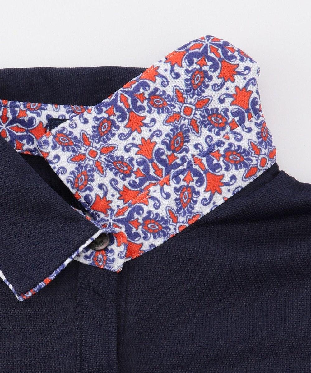 23区GOLF 【WOMEN】【吸水速乾 / UV】トランスクールカノコ ポロシャツ ネイビー系