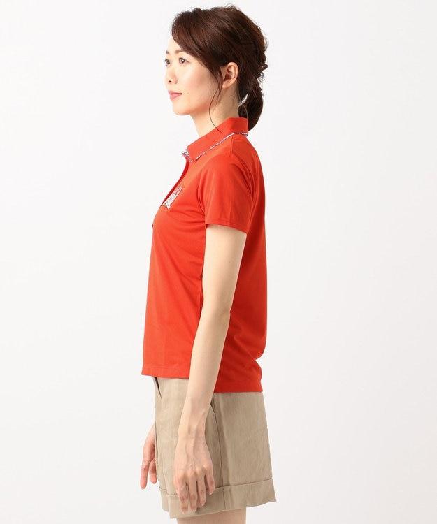 23区GOLF 【WOMEN】【吸水速乾 / UV】トランスクールカノコ ポロシャツ