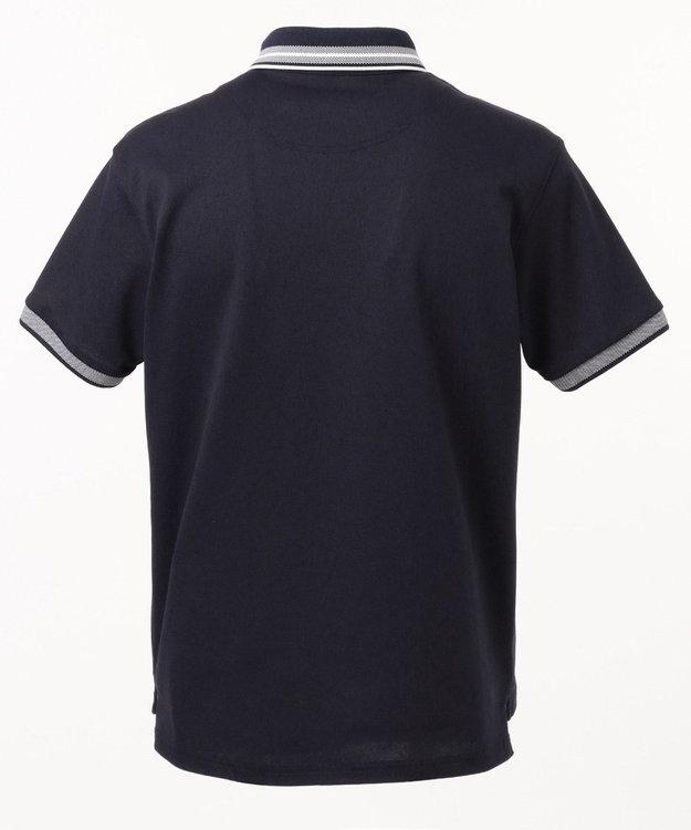 23区GOLF 【キングサイズ】吸水速乾/UV加工 ハイストレッチ鹿子 ポロシャツ
