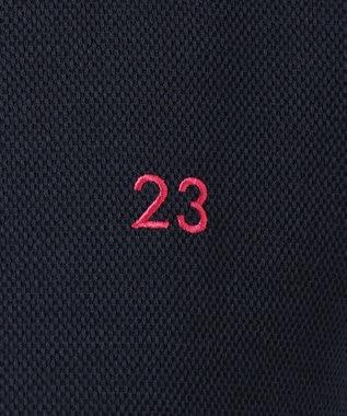 23区GOLF 【WOMEN】【WEB&一部店舗限定】ポロシャツ ネイビー系
