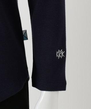 組曲 【KMKK】コットンフライス カットソー ネイビー系
