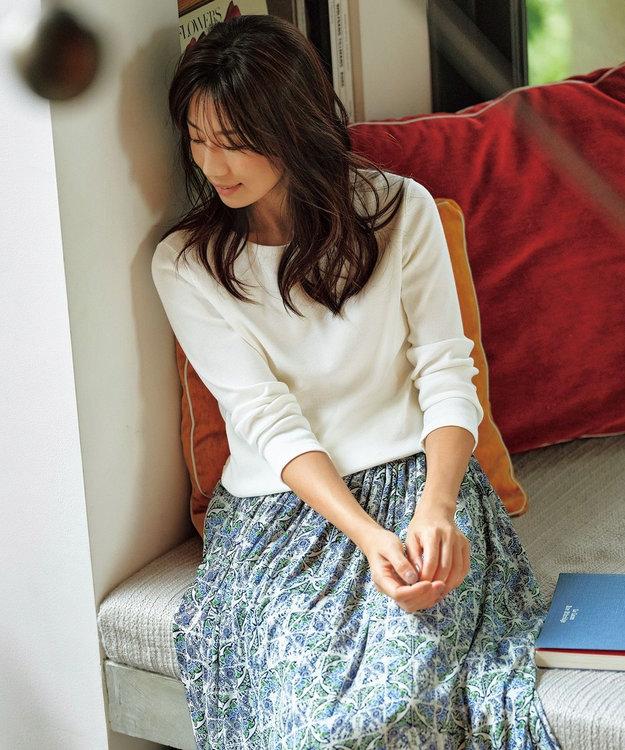 組曲 【東原亜希さん着用/KMKK】コットンフライス カットソー(番号KJ26)