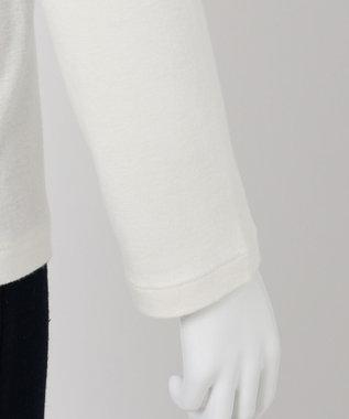 組曲 S 【VERYWEB掲載/KMKK】ソフトコットン ハイネック カットソー ホワイト