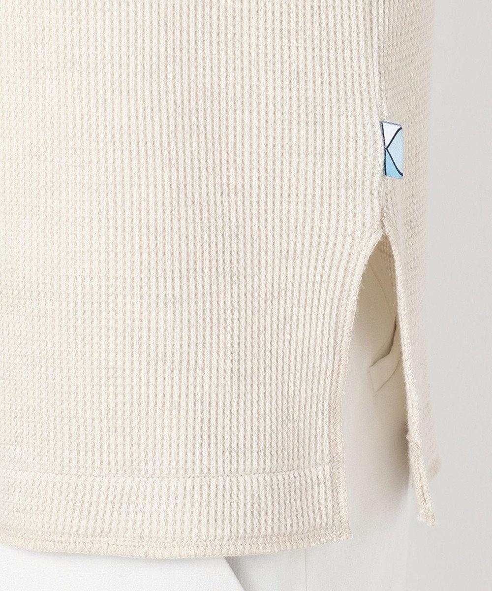 組曲 【VERYWEB掲載/抗菌・防臭】ヘンリーネックカットソー&ハンドクリーム アイボリー系