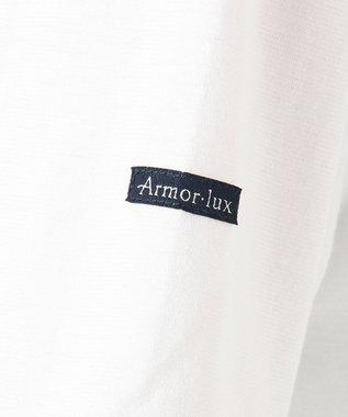 23区 【洗える】Armor luxスリット チュニック ホワイト系