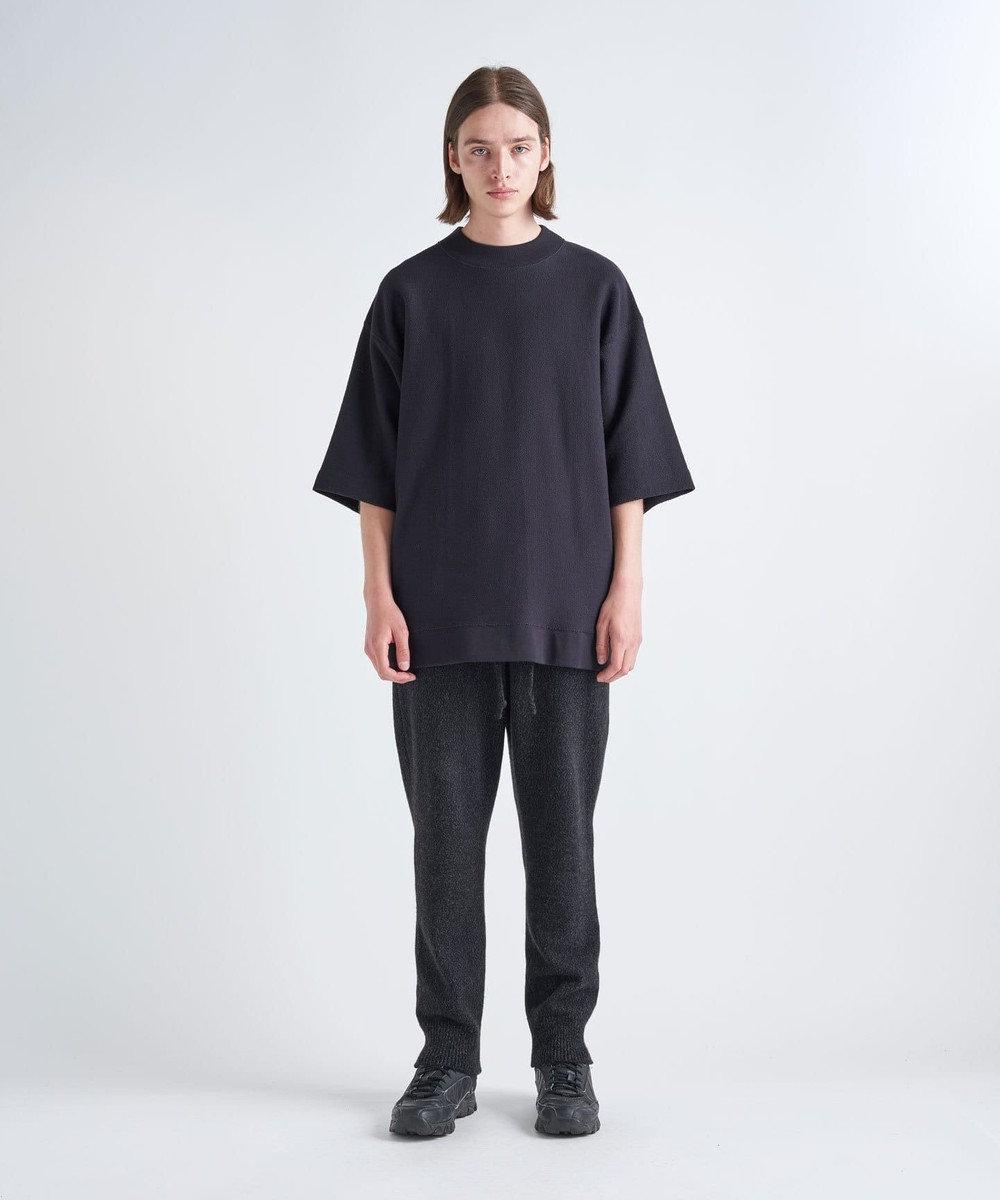ATON ORGANIC INREY / オーバーサイズTシャツ(UNISEX) NAVY