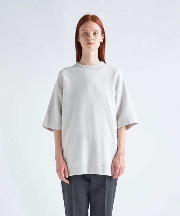 ATON ORGANIC INREY / オーバーサイズTシャツ(UNISEX) WARM WHITE
