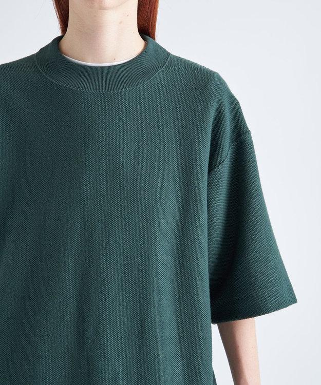 ATON ORGANIC INREY / オーバーサイズTシャツ(UNISEX) GREEN