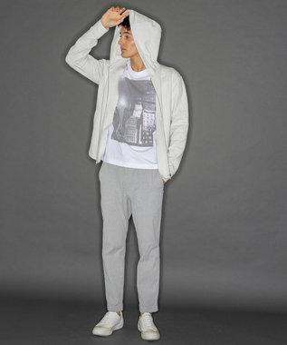 CK CALVIN KLEIN MEN 【新田真剣佑さん着用】テンセルスキューバ ロゴ ZIP パーカー ホワイト系