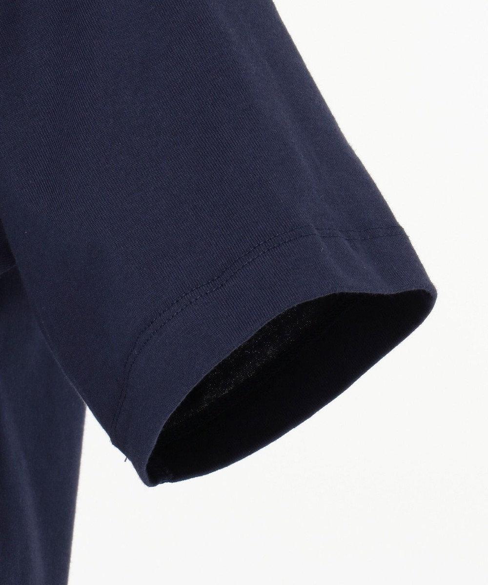 CK CALVIN KLEIN MEN 【新田真剣佑さん着用】リフレクトシグネチャーロゴ Tシャツ ネイビー系