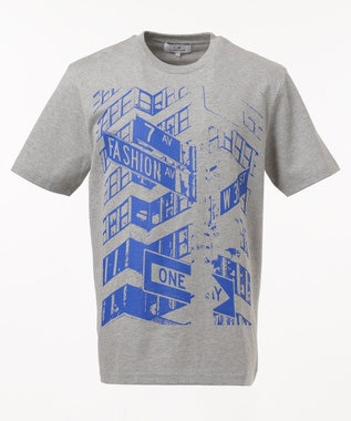 CK CALVIN KLEIN MEN 【プリント】フォトグラフィック Tシャツ ライトグレー系5