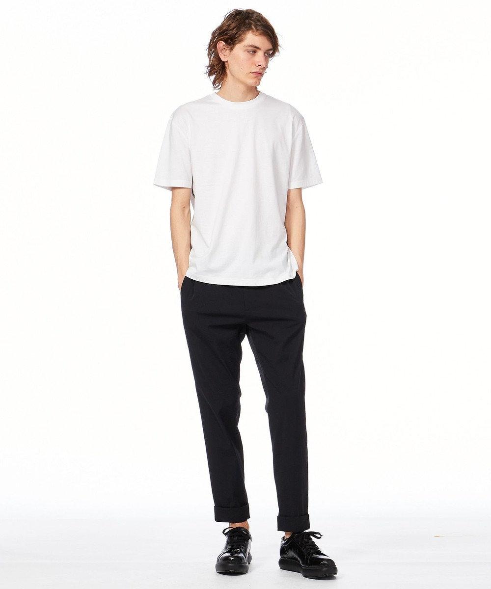 CK CALVIN KLEIN MEN サイドライン Tシャツ ホワイト系