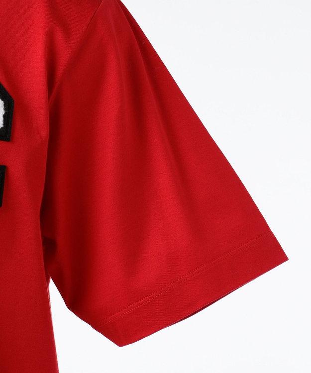 CK CALVIN KLEIN MEN 【夏のおすすめTシャツ】Cワッペンコットン Tシャツ