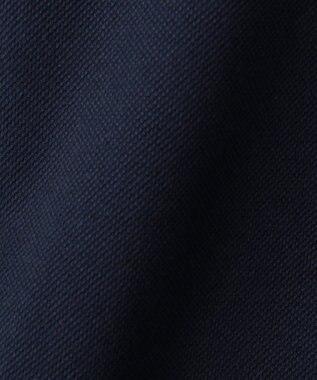 CK CALVIN KLEIN MEN 【夏のおすすめポロシャツ】シャンブレーメッシュピケ ポロシャツ ネイビー系