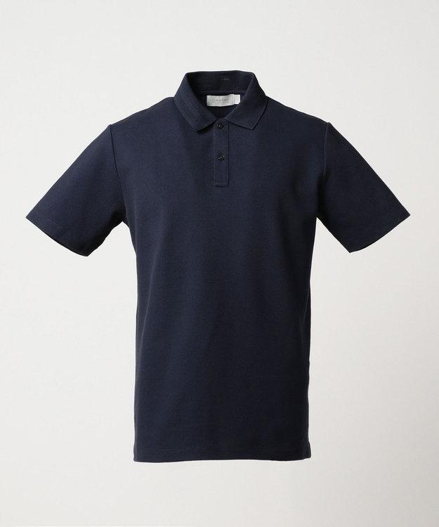 CK CALVIN KLEIN MEN 【夏のおすすめポロシャツ】シャンブレーメッシュピケ ポロシャツ