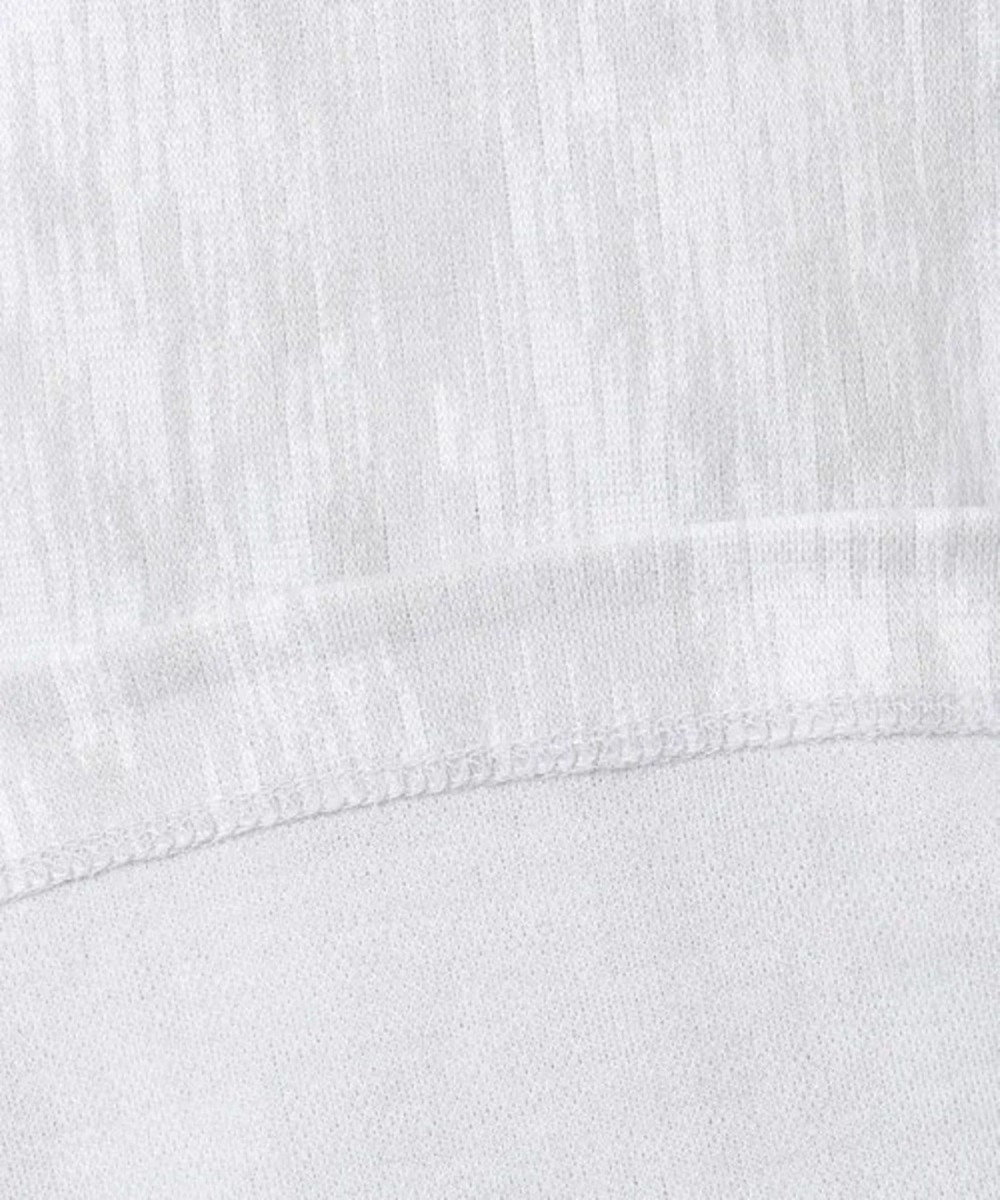 CK CALVIN KLEIN MEN 【キングサイズ】イカットダブルジャガード Vネック カットソー ホワイト系5