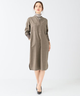BEIGE, 【WEB限定カラーあり】FORD / ハイネックカットソー Taupe