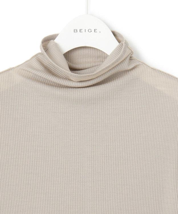 BEIGE, 【WEB限定カラーあり】FORD / ハイネックカットソー