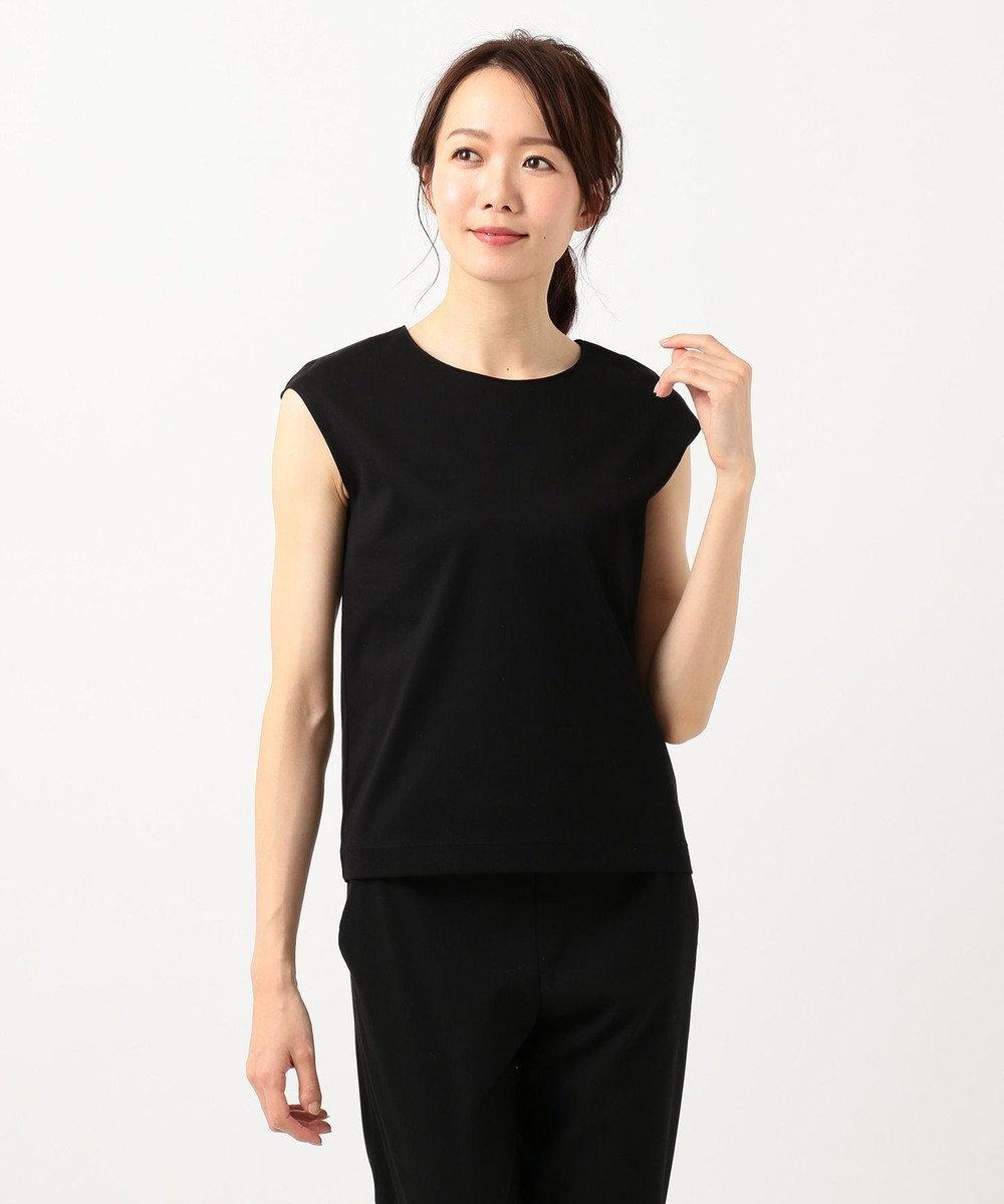 ICB 【VERY3月号掲載】Superior Cotton カットソー ブラック系