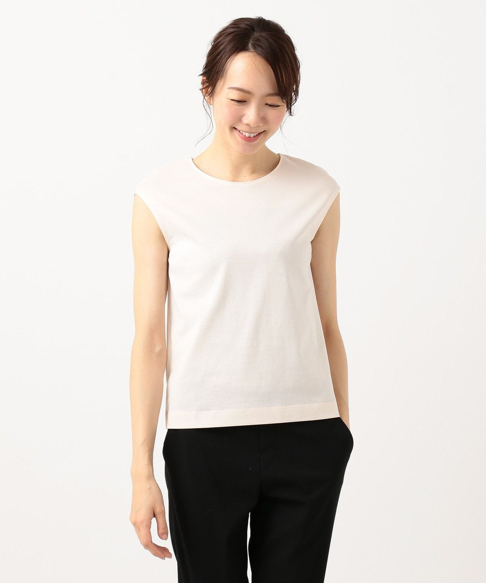 ICB 【VERY3月号掲載】Superior Cotton カットソー ピンク系