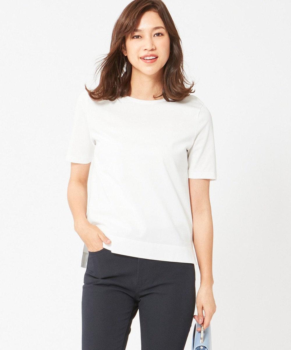 ICB L 【VERY4月号掲載】Superior Cotton カットソー ホワイト系