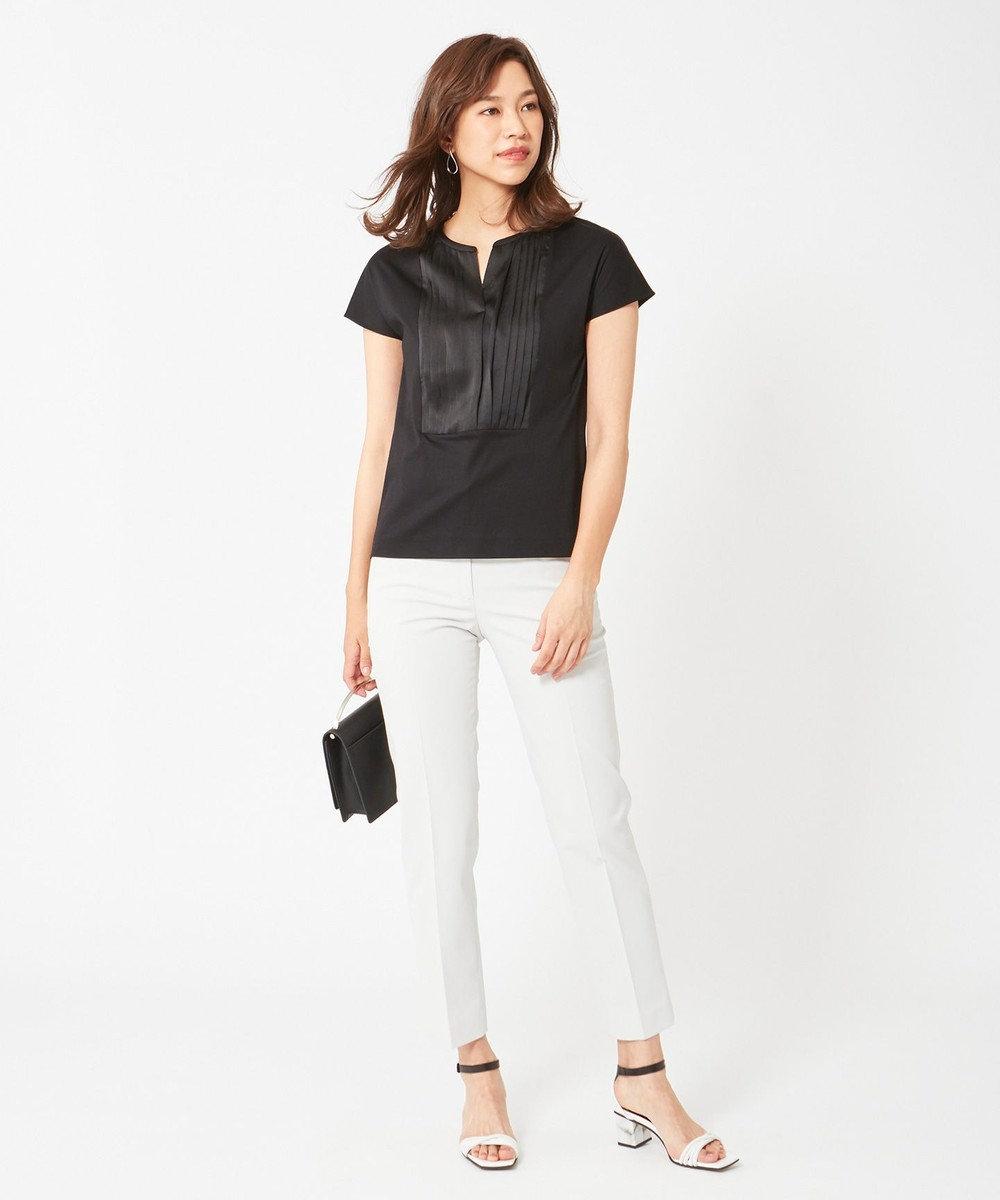 ICB Light Fabric Combi 半袖カットソー ブラック系