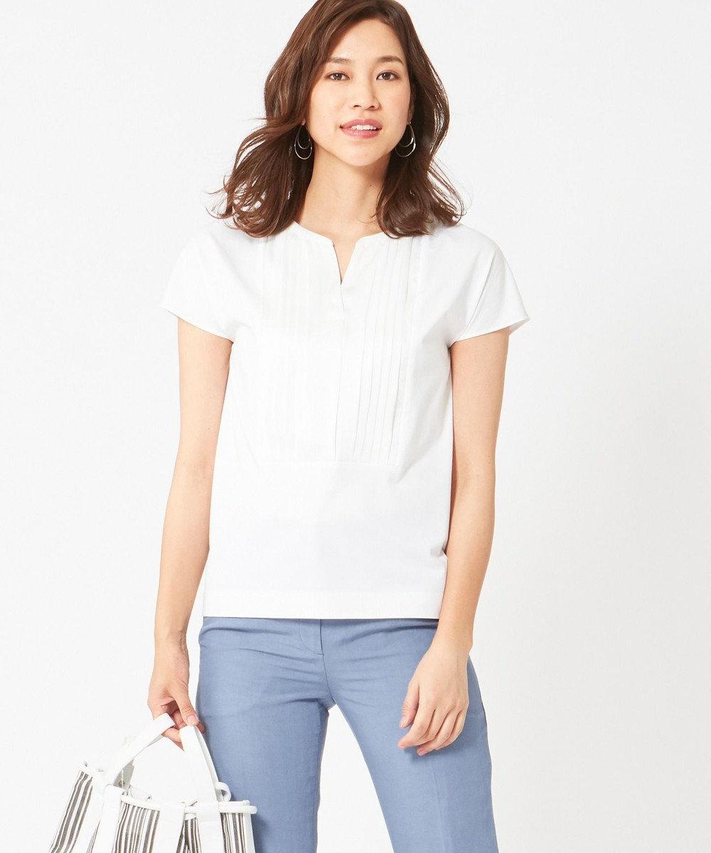 ICB Light Fabric Combi 半袖カットソー ホワイト系