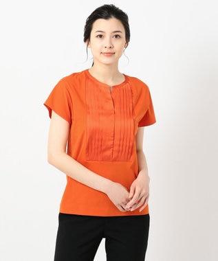 ICB Light Fabric Combi 半袖カットソー オレンジ系