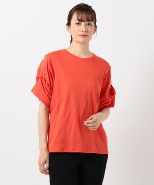 ICB Silkete Rib カットソー オレンジ系