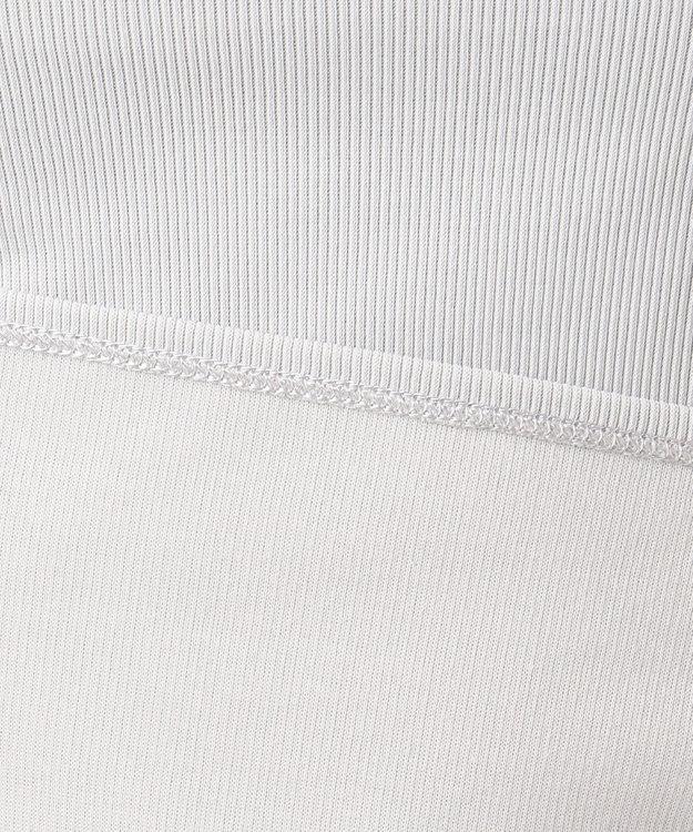 ICB L 【洗えるソフトタッチシリーズ】Pique Jersey ボートネックカットソー