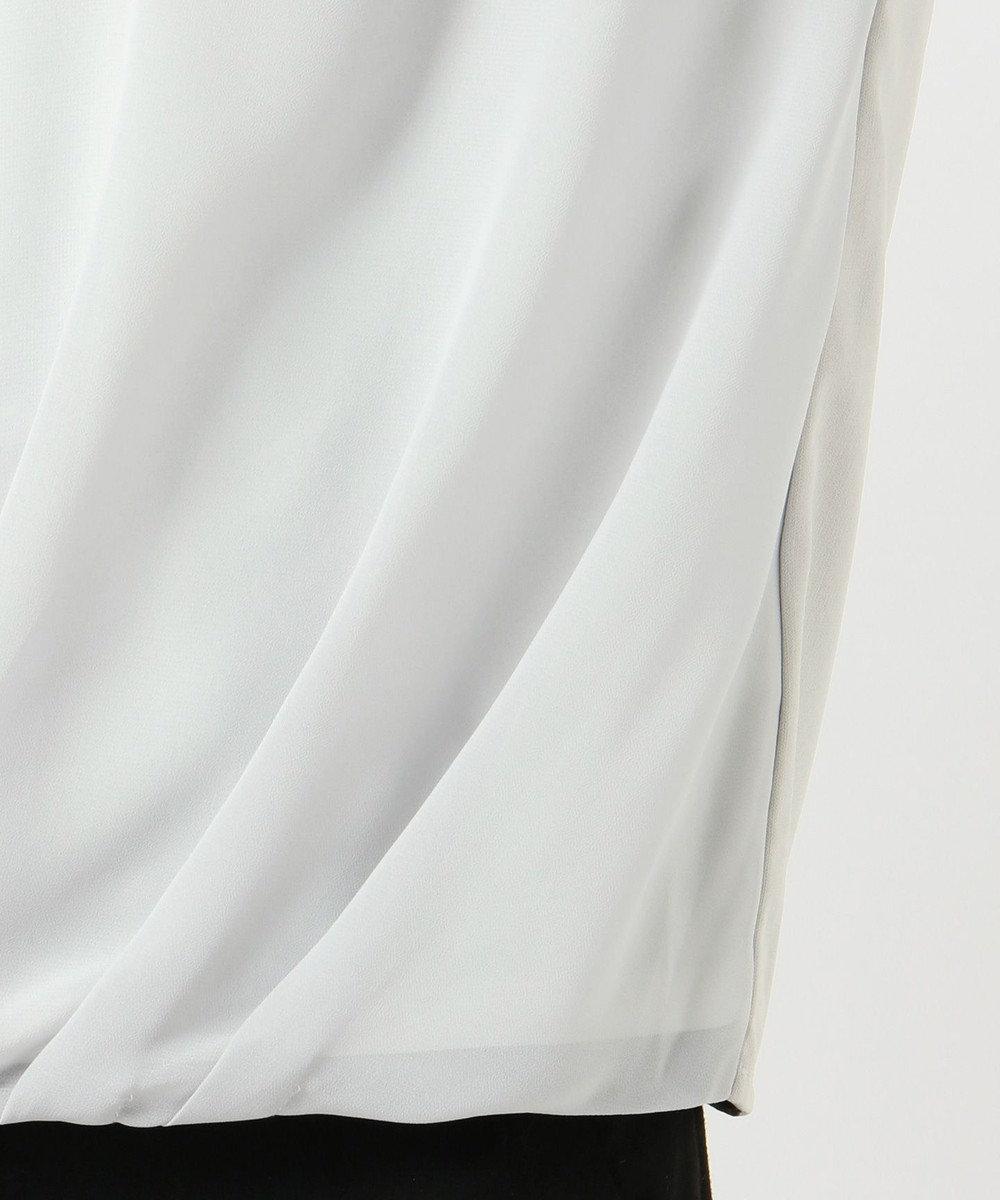 ICB L Fabric Combi Jersey ドレープカットソー ライトグレー系