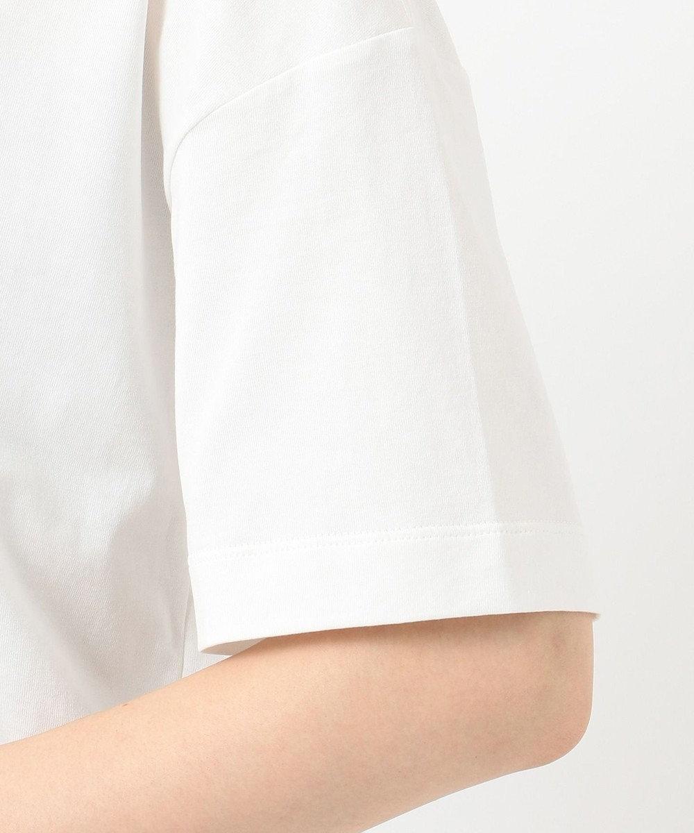 ICB Organic Cotton ロゴカットソー ホワイト系