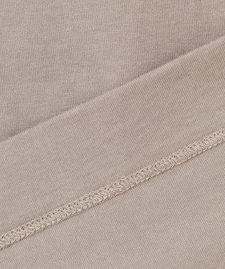ICB Organic Cotton ロゴカットソー ブラウン系