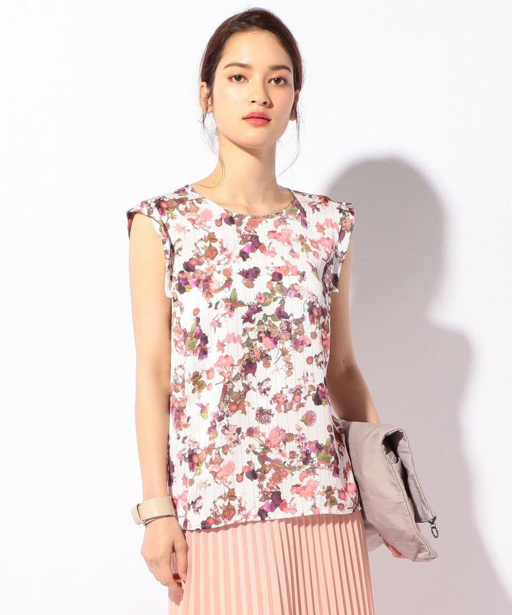 ICB 【洗える】Bloom Print Jersey カットソー ピンク系5